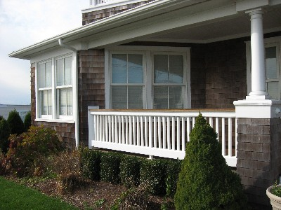 Porch and Railings
