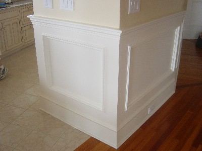 Custom Trim: Wainscoting